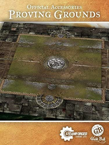 STEAM FORGED GAMES Play Mat: Proving Grounds