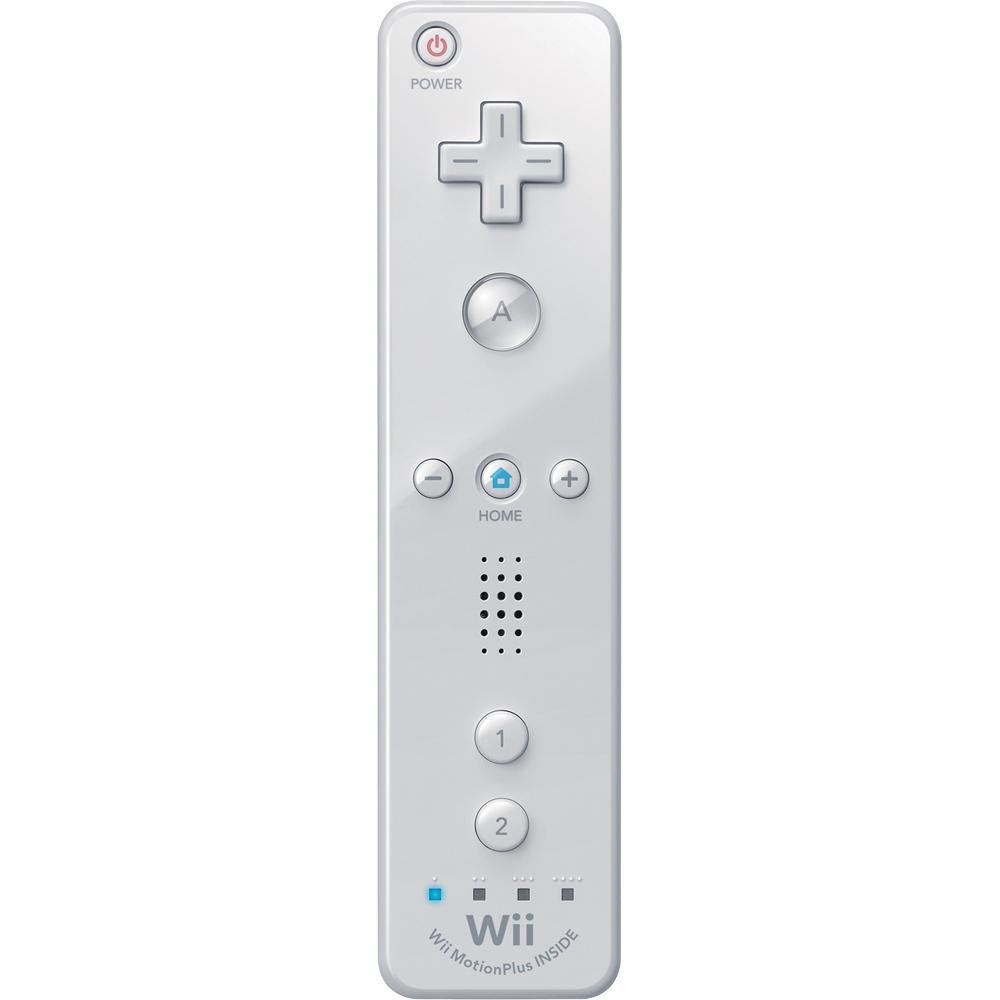 Wii Remote Plus - White (Renewed)