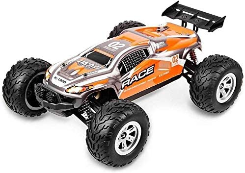 Xuess RC Crazy Drift Racing 4WD High-Performance Remote Control Vehicle Toy Buggy 1/12 High Speed Amphibious Monster Off-Road Climbing Race Car Educational Toys (Color : Yellow)
