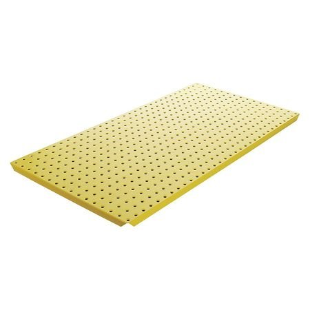 Pegboard 16Inchhx32Inchw Metal Yellow