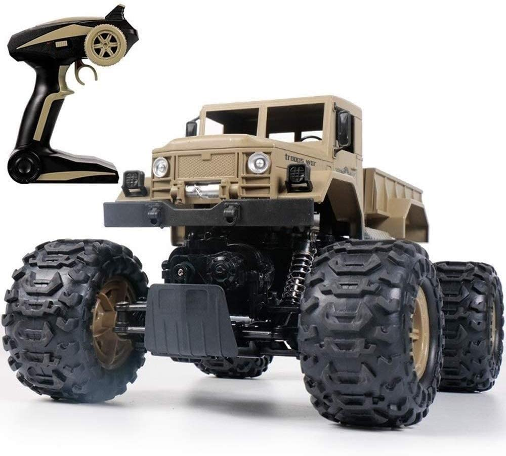 Xuess Educational Toys 2.4Ghz High Speed All Direction Drive Four-Wheel Remote Control Buggy RC Car Drifting Monster Truck Toy Kids Gift
