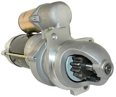 DB Electrical SNK0022 Starter For Bobcat Articulated Loader 1600 / Skid Steer Loader 645, 753, 763, 773, 7753 / Clark Skid Steer Loader 763, 773/6660797, 10465346, 10465348, 10465420, 10479613