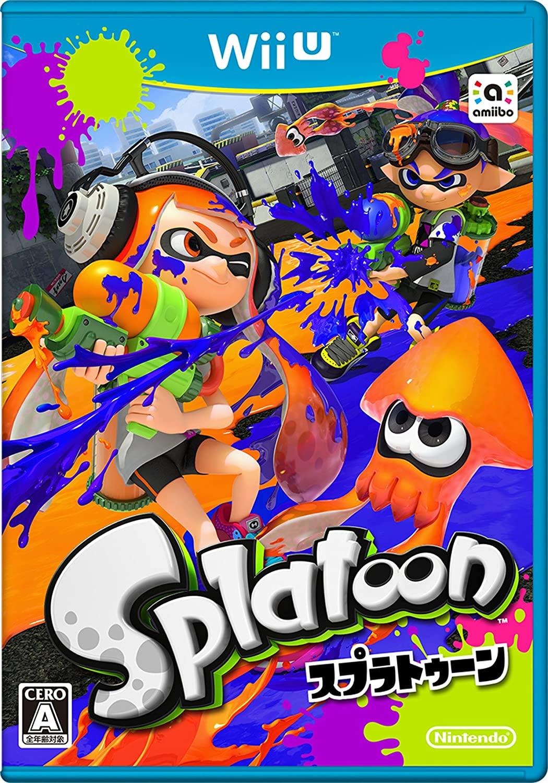 Splatoon Japanese import