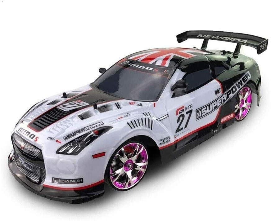 Xuess 2.4Ghz Sports Car Boy Outdoor Preferred Gift Simulation Model Toy Auto Cartoon Fast RC Drift Car Four-Wheels Drive Remote Control Racing Vehicle