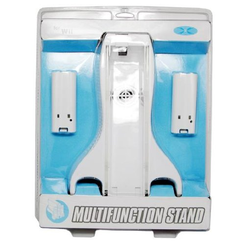Charge Stantion Cooling Fan Cooler System & 2 Batterie Covers for Nintendo Wii