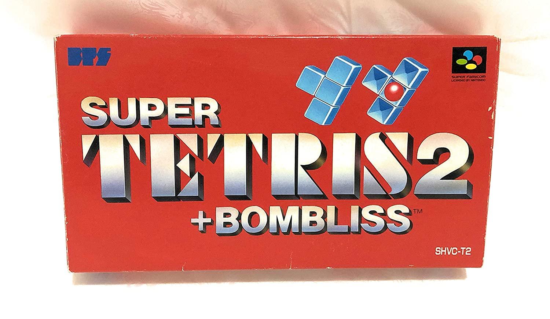 Tetris 2 + Bombliss, Super Famicom (Super NES Japanese Import)