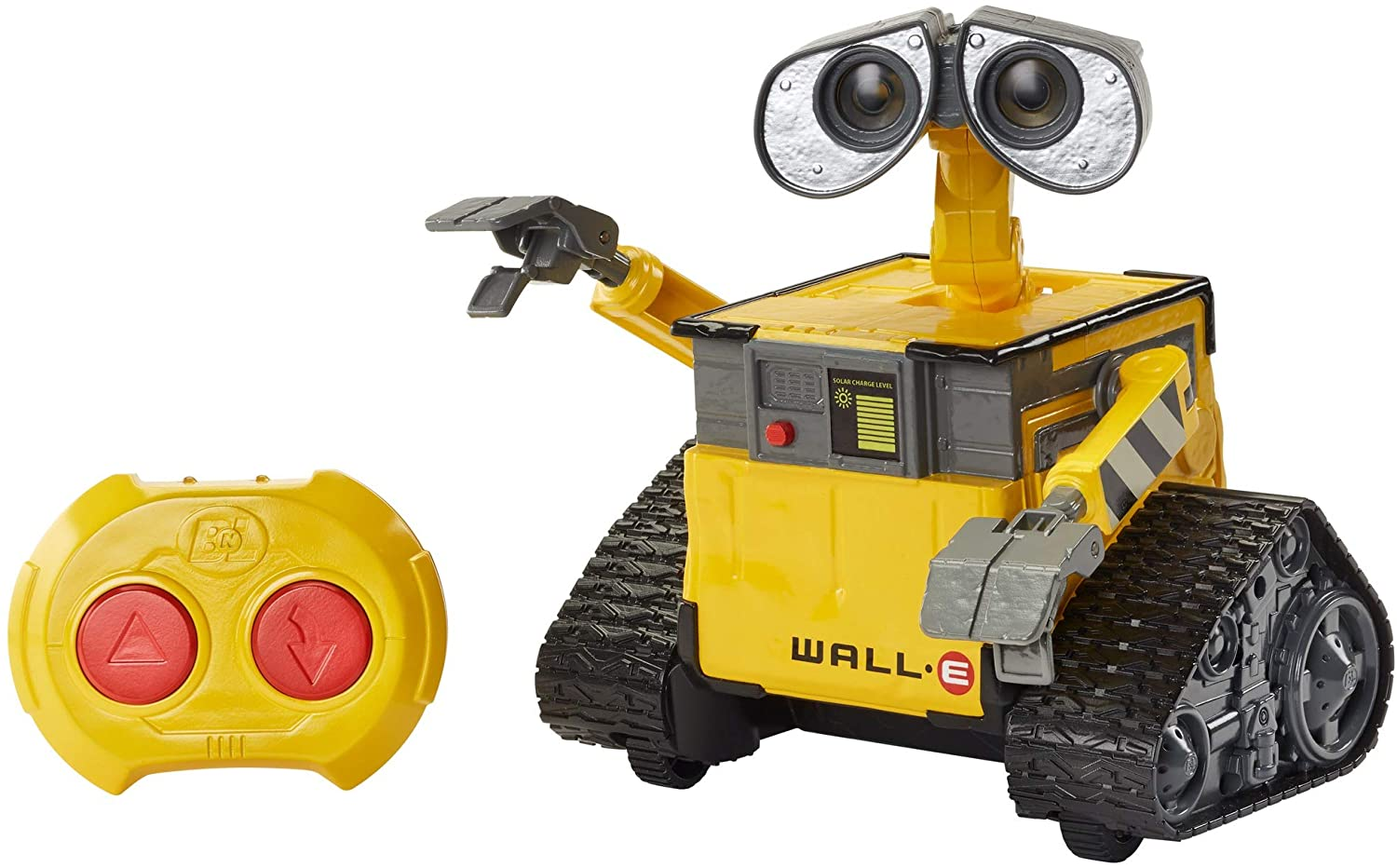 Disney Pixar Wall-E Remote Control Robot Toy 9.5-in 24-cm Tall, Kids Gift for Ages 4 Years Old & Up