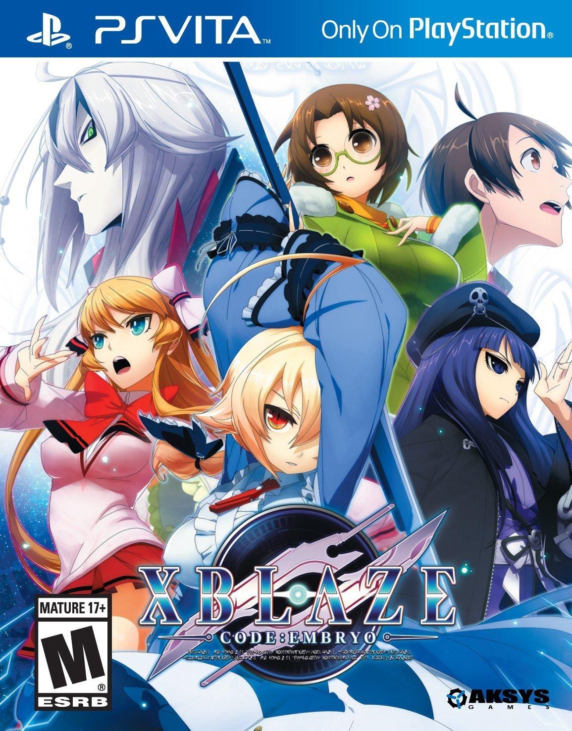 Xblaze Code:Embryo - PlayStation Vita