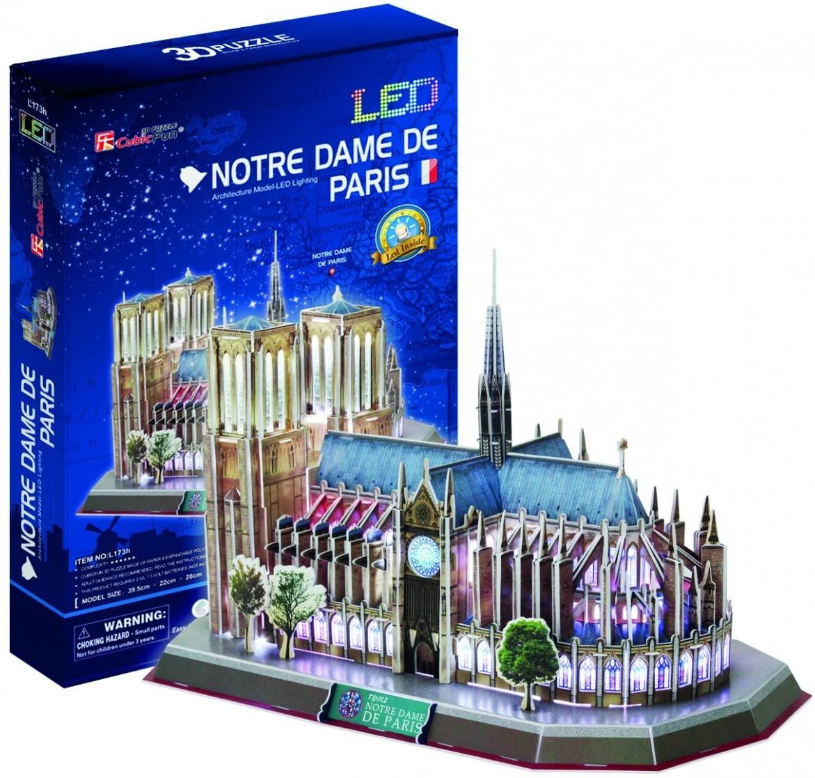 Cubic Fun Notre Dame de Paris, 149 pieces