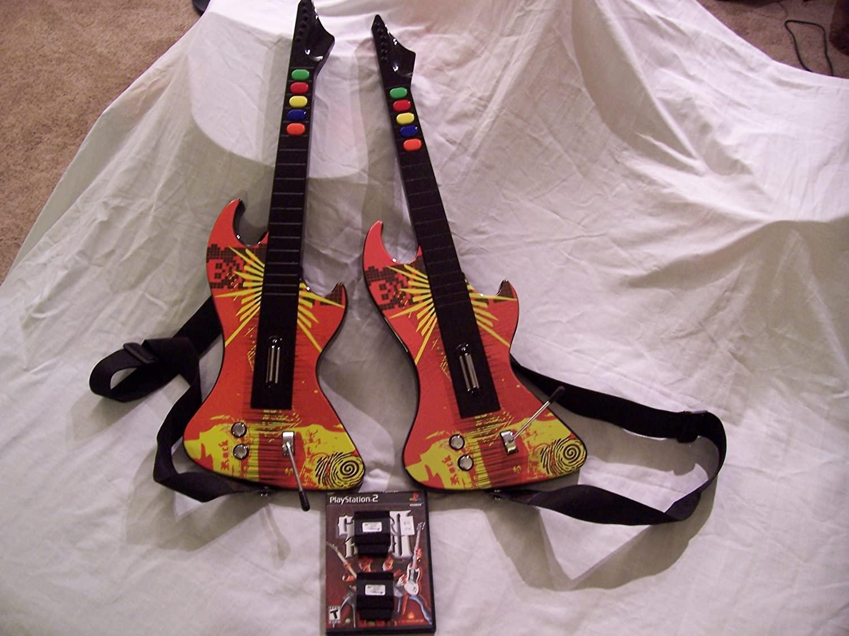 PS2 Guitar Hero Psyclone Essentials PSE1999 Controller