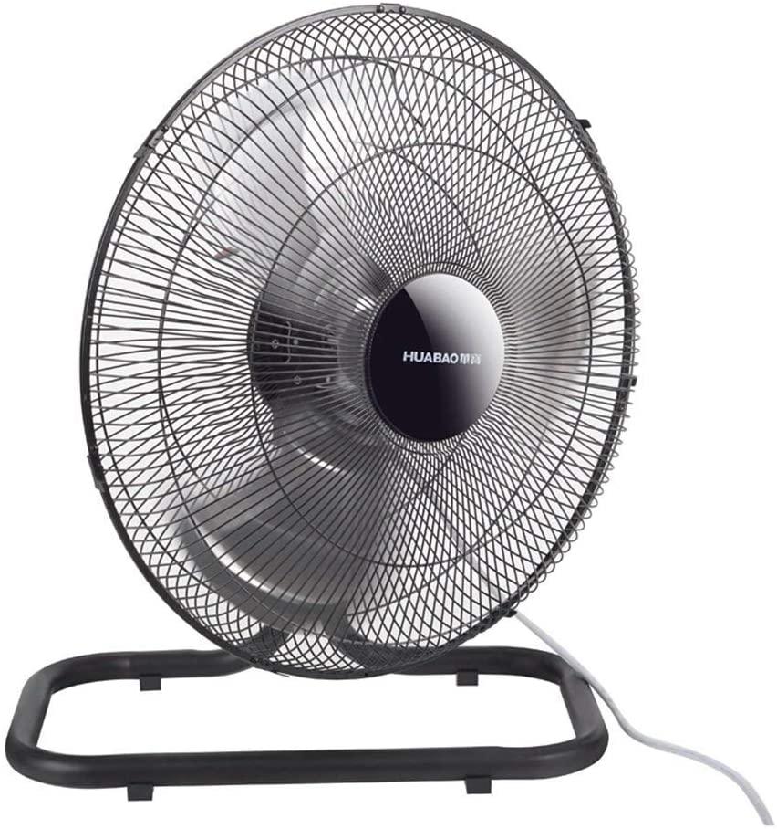 Practical Electric Fan, Floor Fans, Home Page Silent Fans, Shaking Head Industrial Fans. Energy Saving Fan for Living Room Bedroom Office, BOSS LV