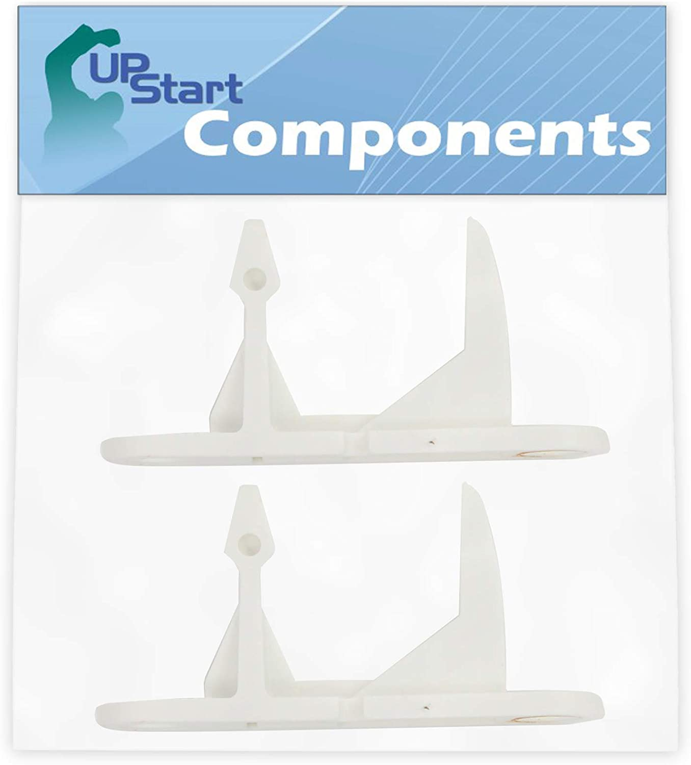 2-Pack 131763310 Washer Door Striker Replacement for Kenmore/Sears 41742042100 Washing Machine - Compatible with 134456600 Door Strike - UpStart Components Brand