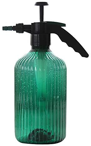Wollet Water Mister & Spray Bottle for Plants & Gardens - 2 Liters Sprayer with Adjustable Pressure Nozzle (Green)