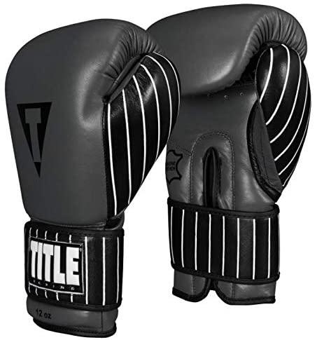 Title Boxing Nostalgic Leather Training Gloves