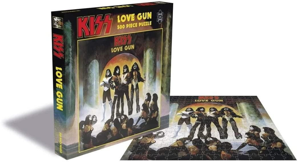 Rock Saws - Kiss Love Gun - 500 Piece Jigsaw Puzzle