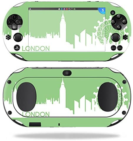 MightySkins Skin Compatible with Sony PS Vita (Wi-Fi 2nd Gen) – London | Protective, Durable, and Unique Vinyl Decal wrap Cover | Easy to Apply, Remove, and Change Styles | Made in The USA