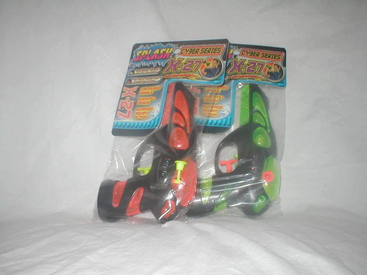 Splash Cyber Series X-27 Water Pistol in Assorted Colors