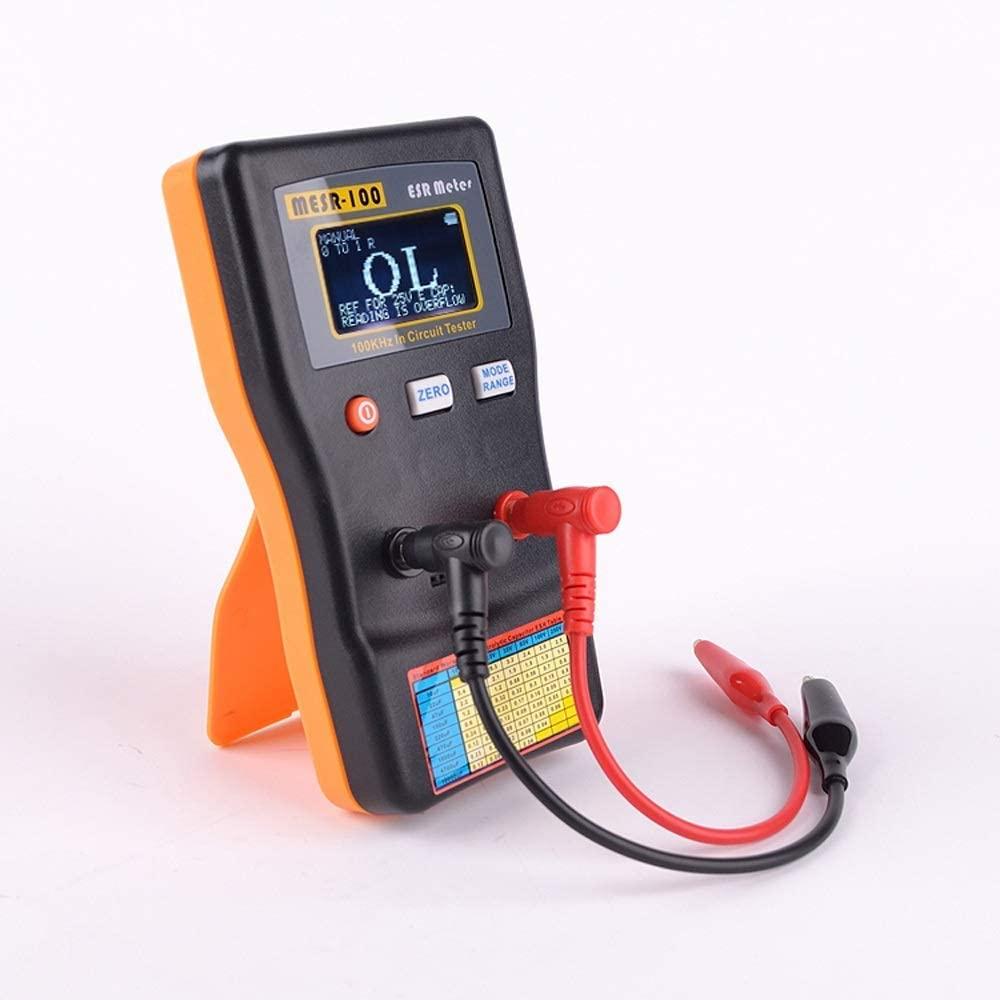 Luckya MESR-100 ESR Capacitance Meter Ohm Meter Professional Measuring Capacitance Resistance Capacitor Circuit Tester