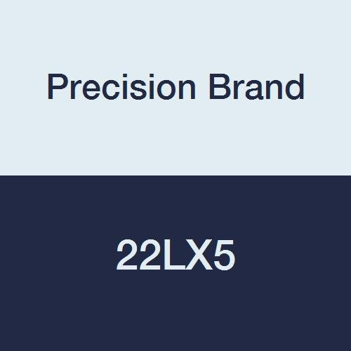 Precision Brand 22LX5 Stainless Steel Shim Stock, 6″ x 60″ Roll, Full Hard, 302 Stainless Steel, Cold Rolled, 0.005″