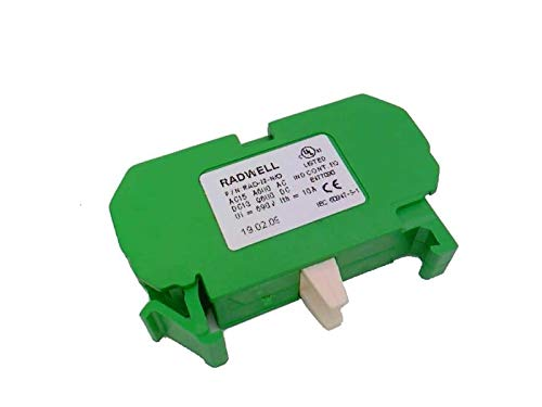 RADWELL VERIFIED SUBSTITUTE 800FM-KM33MX11-SUB Replaces Allen Bradley Part # 800FM-, Metal, All, Includes Cap/Actuator/Bezel/Latching Device & 1NO/1NC Contact Blocks, (Contact Blocks & ACCE