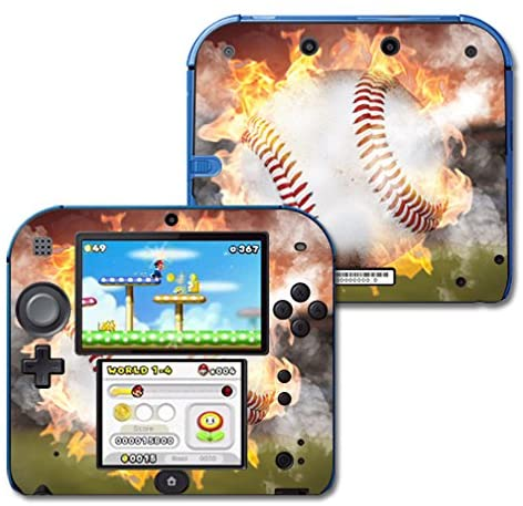 MightySkins Skin Compatible with Nintendo 2DS - Fastball | Protective, Durable, and Unique Vinyl Decal wrap Cover | Easy to Apply, Remove, and Change Styles | Made in The USA