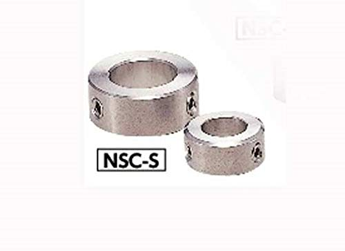 VXB Brand NSC-6-8-S Steel Collar - Set Screw Hex Socket SUSXM7 Type - NBK - One Collar Made in Japan Set Collar - Set Screw Type - Stainless Steel Quantity : One Collar NBK - Made in Japan