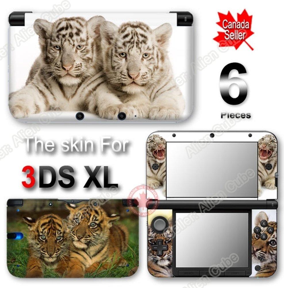 Baby Tiger Cute SKIN VINYL STICKER DECAL COVER for Original Nintendo 3DS XL