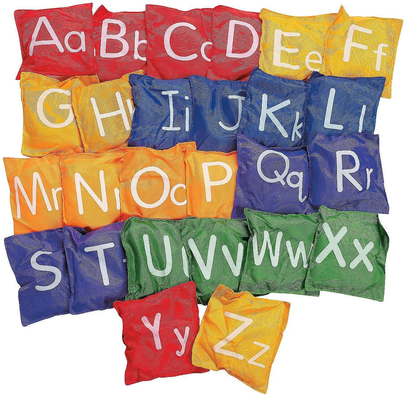 Fun Express Alphabet Bean Bags- 5