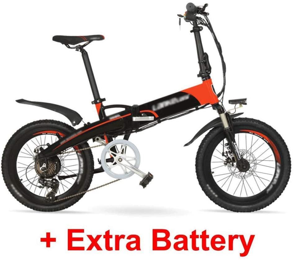 qx Scooter Electric Mountain Bike G660 48V10Ah High Power Hidden Battery 500W 20