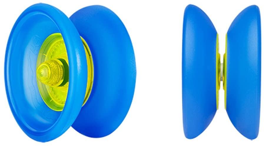 Henrys Cobra Yo-Yo (Yellow with Blue Rims)