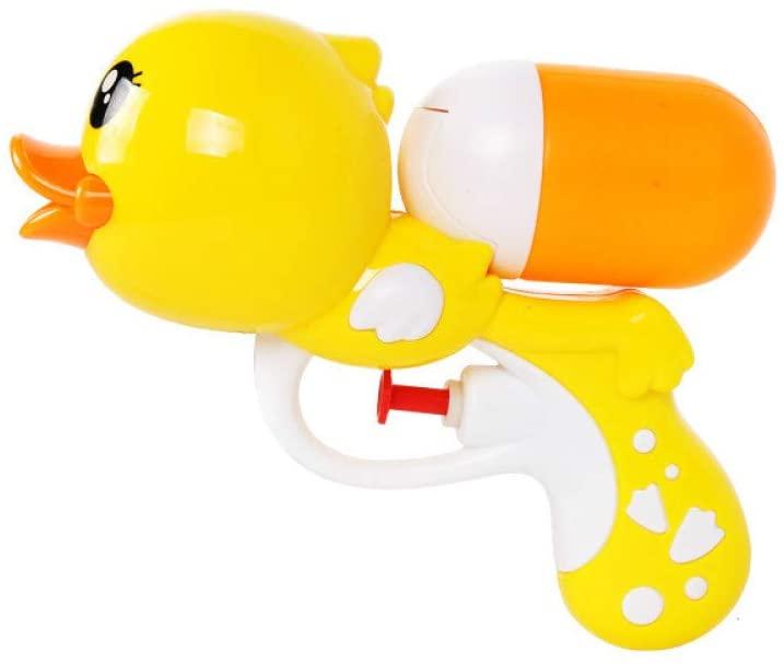 SHUNHUI Cartoon Water Gun for Ducklings Children's Beach Toys Boys and Girls Play with Water Splashing Outdoor Bathing and Swimming (3 Packs)
