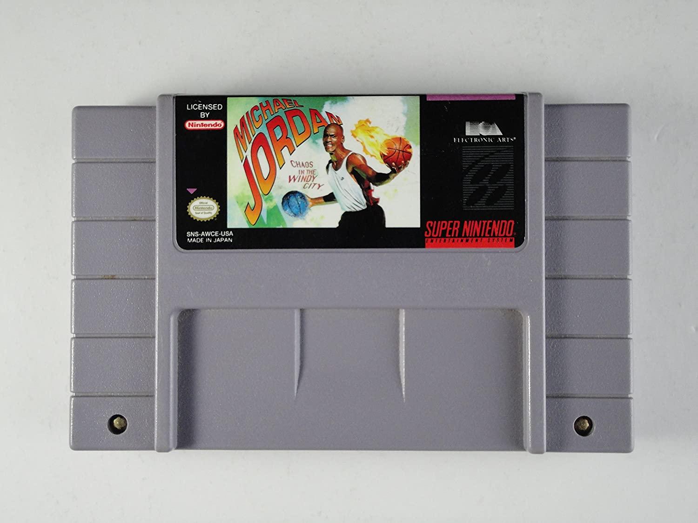 Michael Jordan: Chaos in the Windy City - Nintendo Super NES