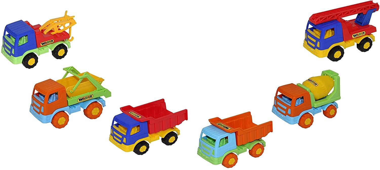 Polesie Polesie50014 Tema Truck Assorted, 30 Pieces (Display), Multi Colour