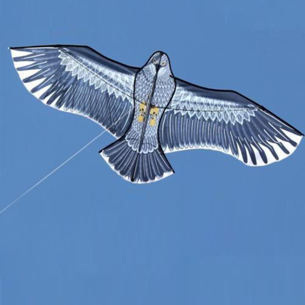 Denpetec Huge Glede Kite, Novelty Glede Kite Flying Sports for Children Fun Kite Easy Family Outings Outdoor