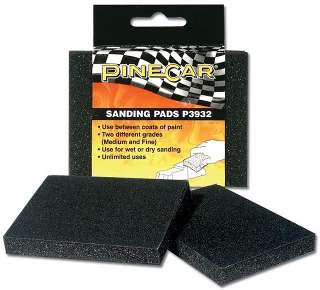 Pinecar Sanding Pads, PIN3932