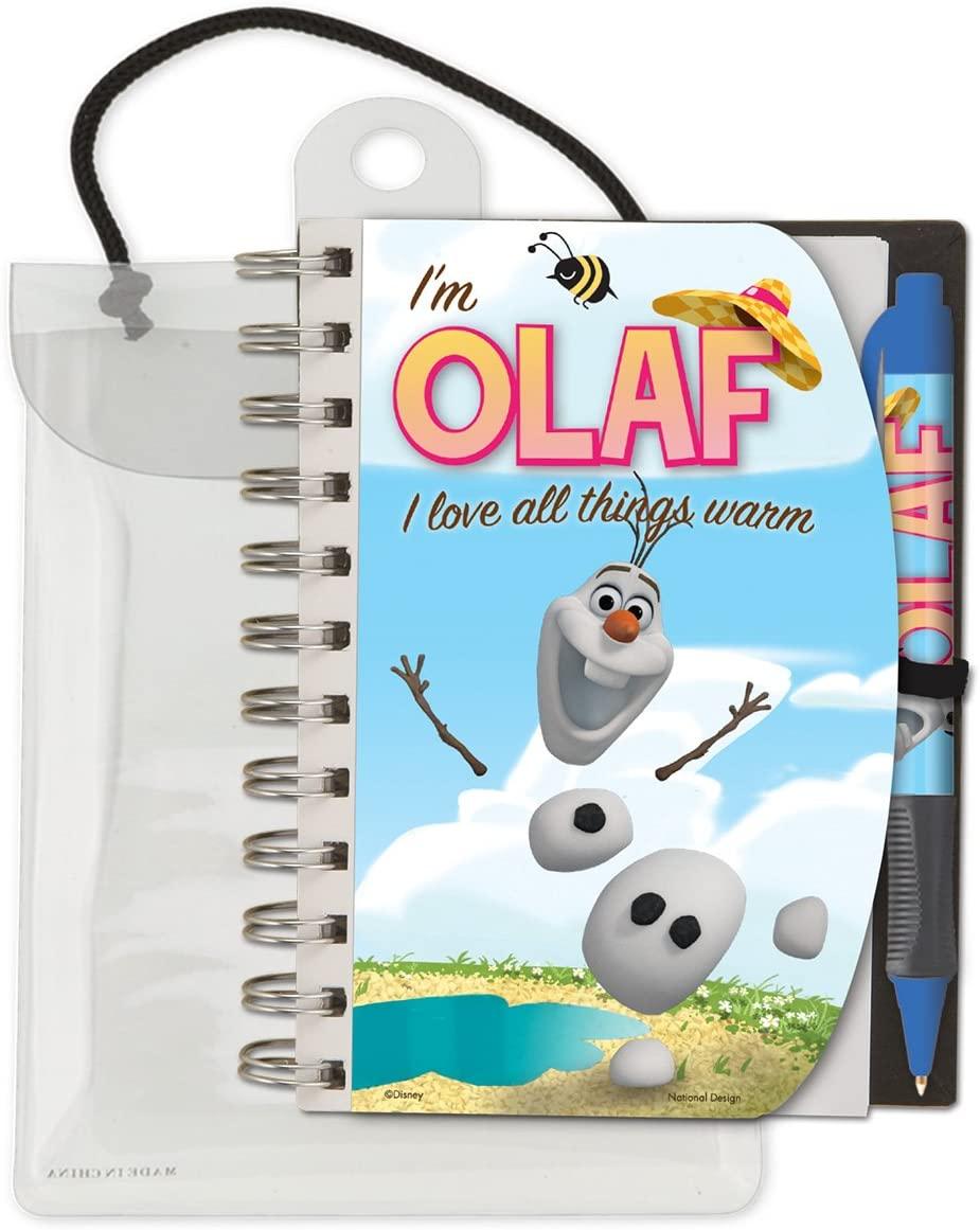 National Design Disney Frozen Olaf Deluxe Hardcover 4 x 6
