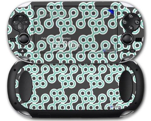 Locknodes 02 Seafoam Green - Decal Style Skin fits Sony PS Vita