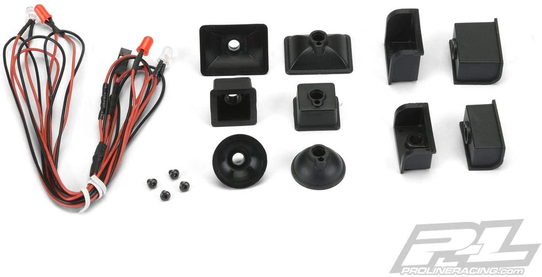 Pro-line Racing Universal LED Headlight & Tail Light Kit: Crawlers, PRO631700