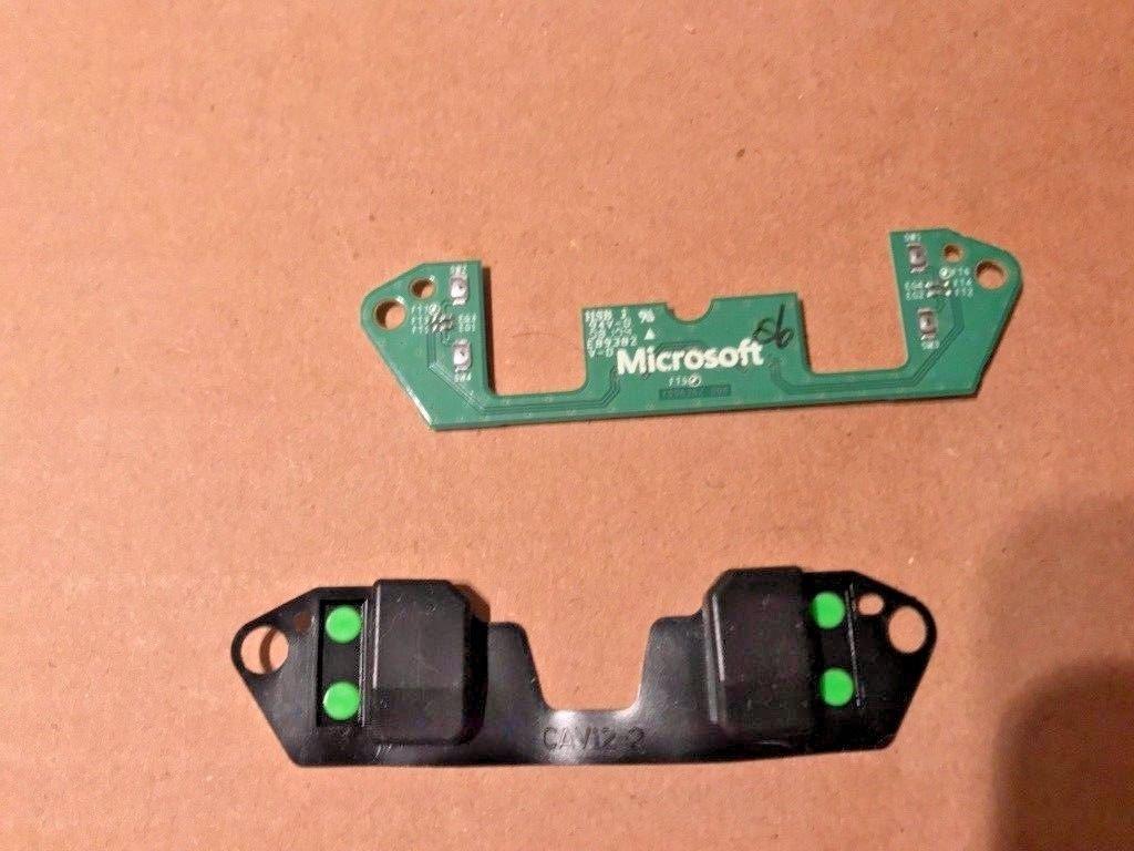 XBOX-ONE- Elite Controller P1 P2 P3 P4 Button Assembly BOARD PCB + RUBBER by Araujobargain.