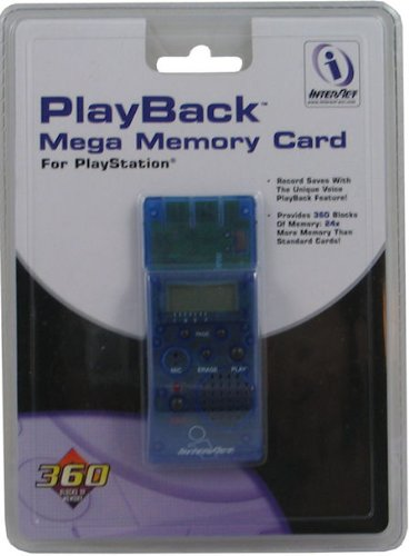 New Playstation 1 PS1 PSX MEGA 360 BLOCK MEMORY CARD 24