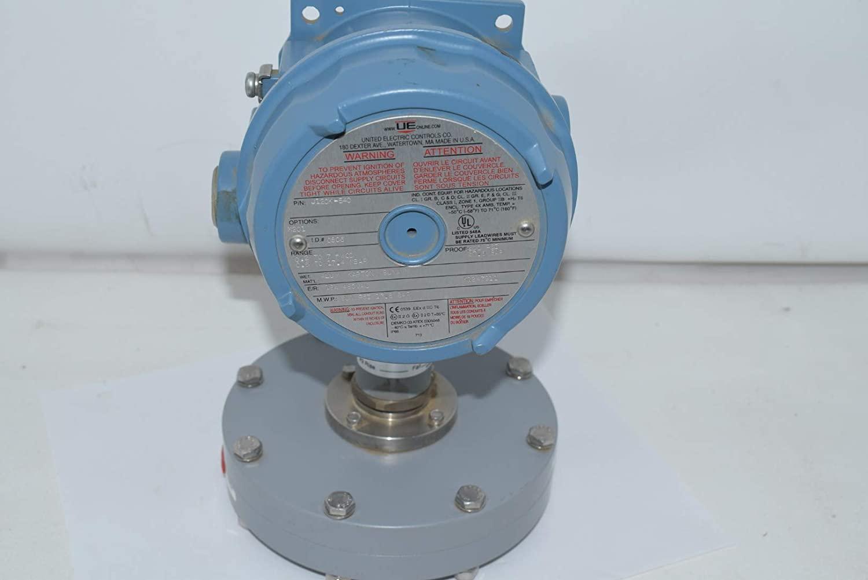 New United Electric J120K-540 UE Model J120K Differential Pressure Switch M210