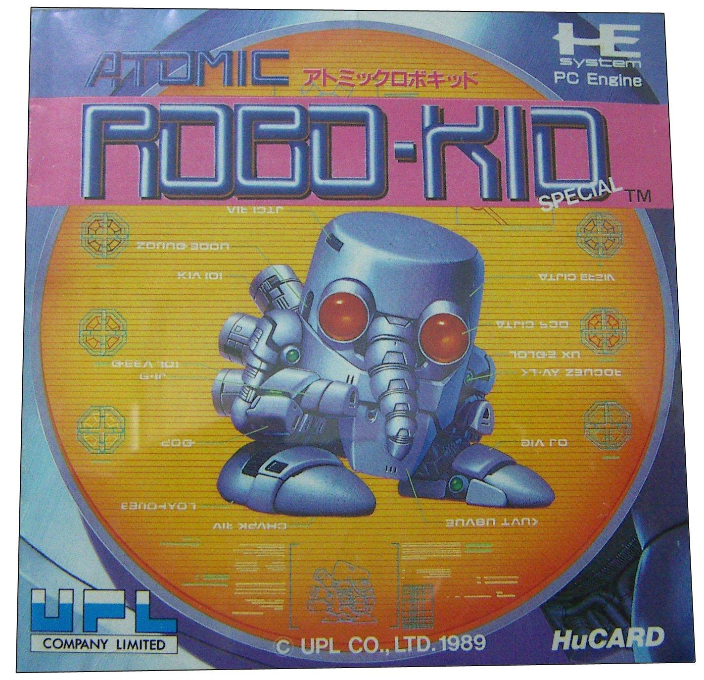 ATOMIC ROBO-KID [PC-ENGINE Japanese Import]