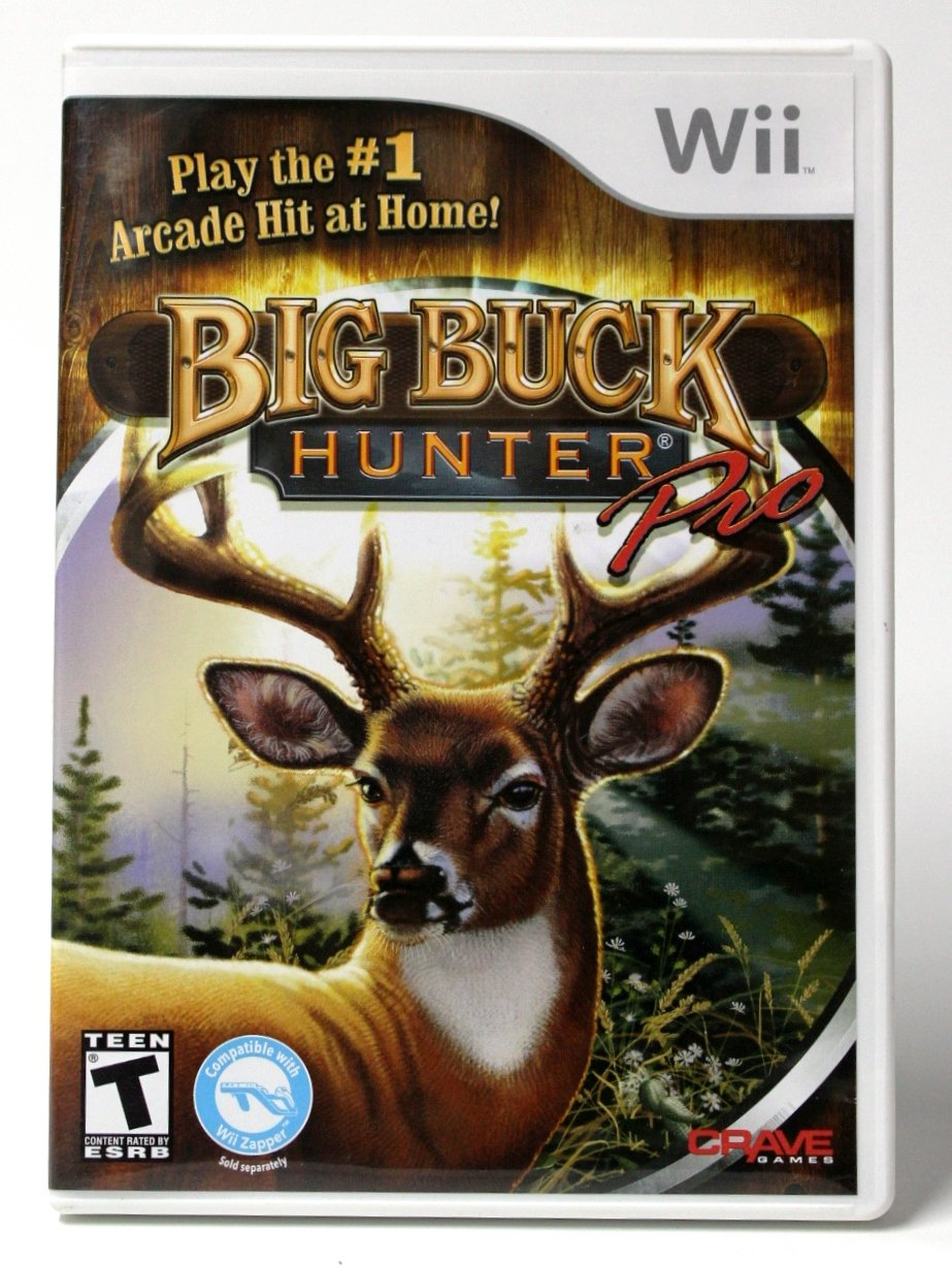 Big Buck Hunter Pro - Software Only - Nintendo Wii