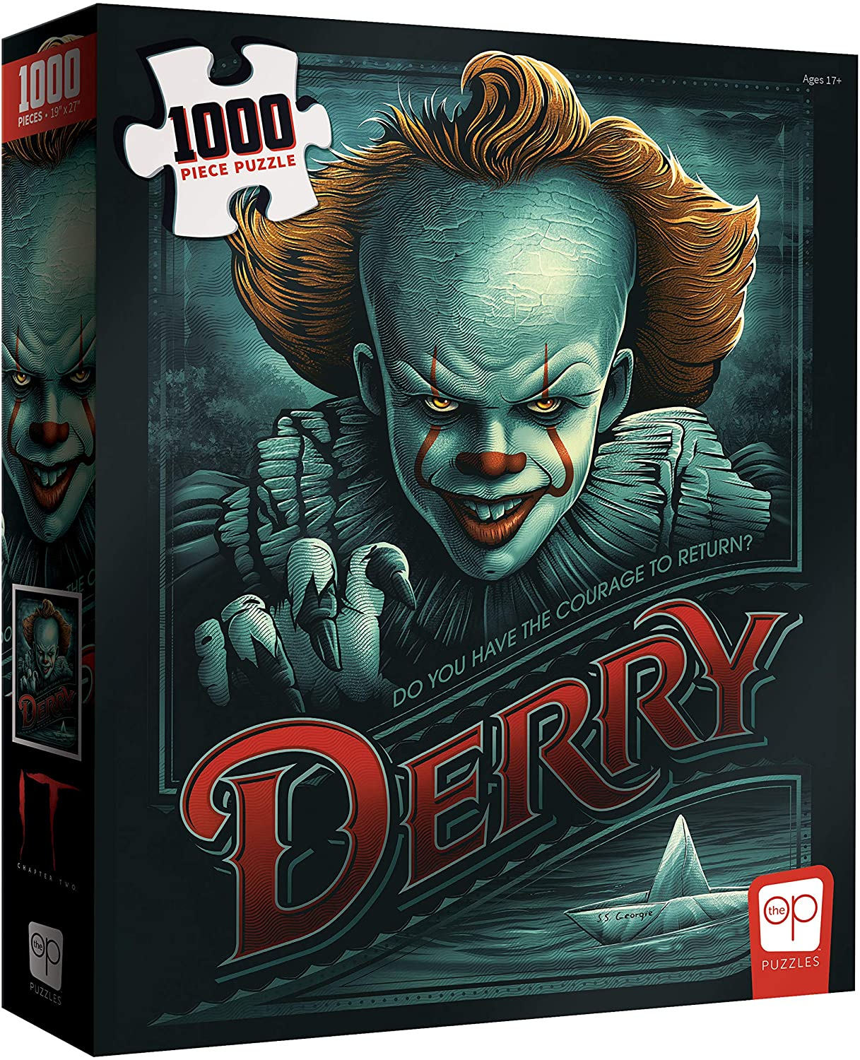 """USAOPOLY IT Chapter 2 """"Return to Derry"""" 1000 Piece Jigsaw Puzzle 