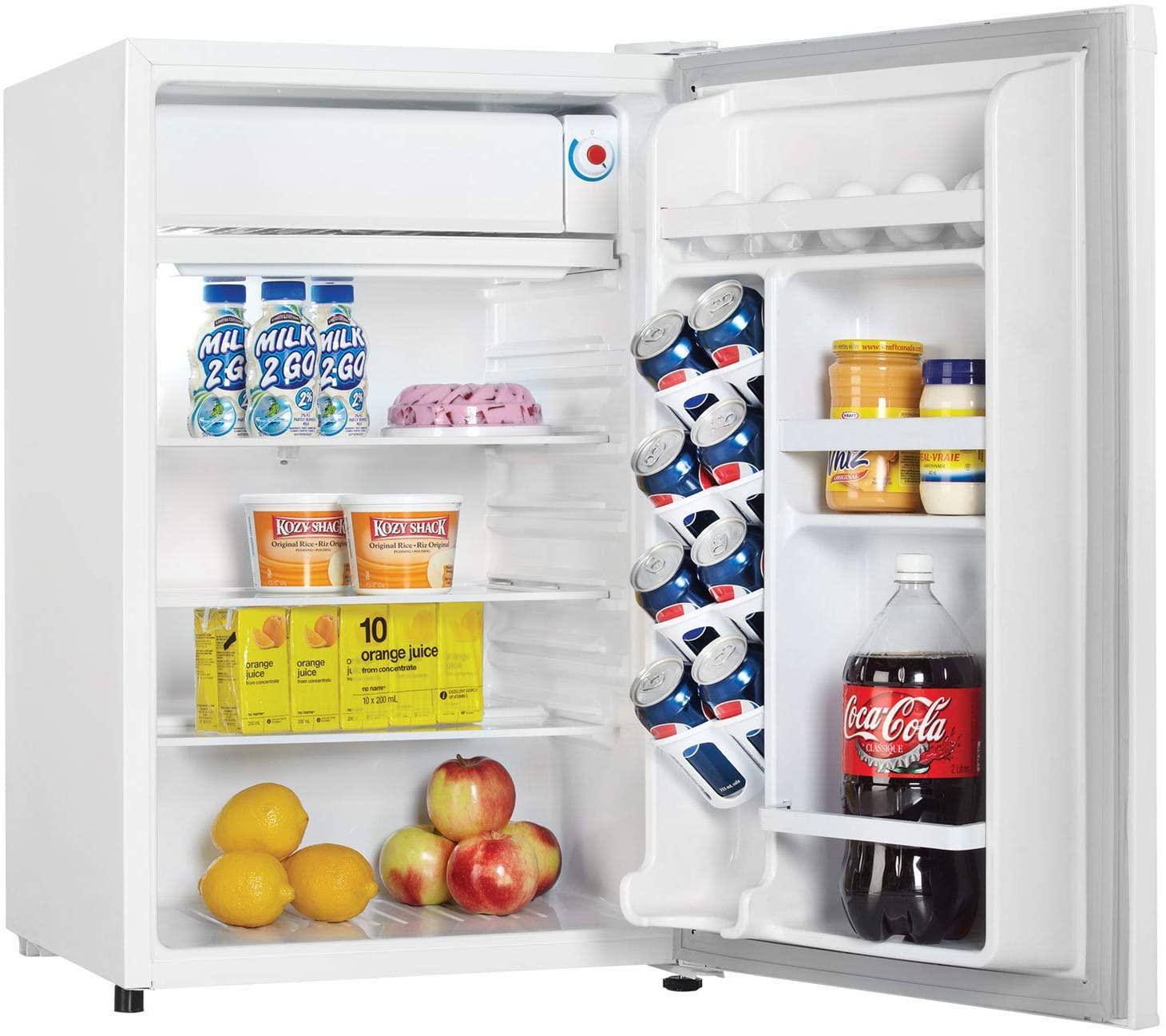 Danby 4.4 Cu. Ft. Compact Refrigerator, White