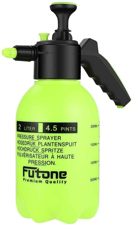 Mrcartool 0.5 Gallon Hand Held Garden Sprayer Pump Pressure Water Sprayers