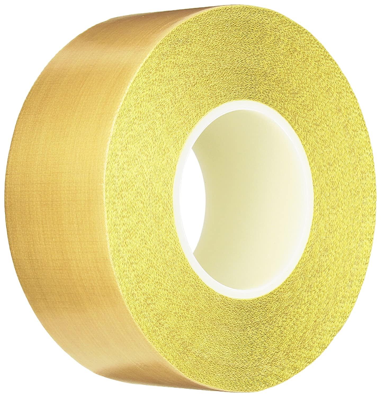 Teflon 21-3S Teflon Coated Tape, Silicone Adhesive, 2.5