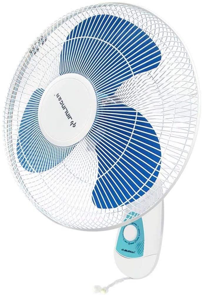 Practical Electric Fan, Wallounted Fan Home Silent Desktop Wall Fan Industrial Shaking Head Fan. for Living Room Bedroom Office, BOSS LV