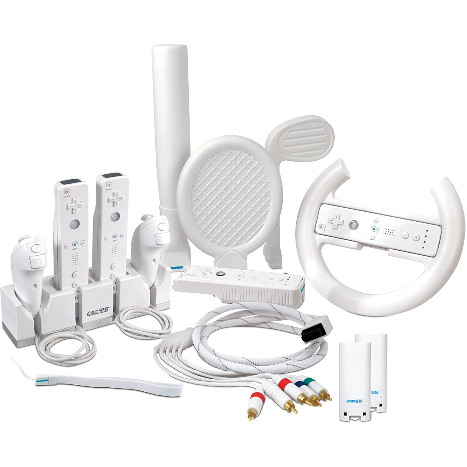 Wii 10 in 1 Players Kit
