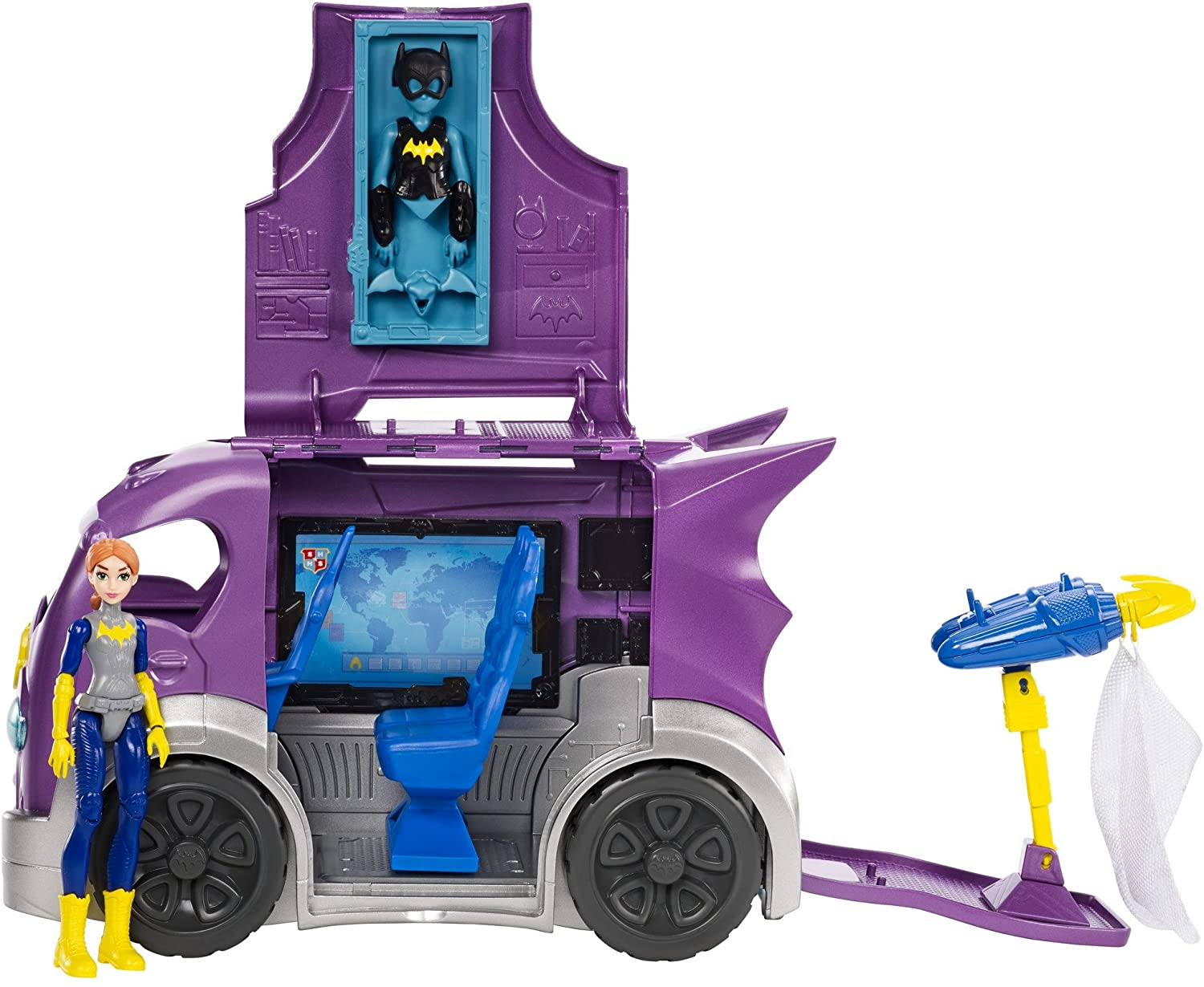Mattel DC Super Hero Girls Batgirl & Vehicle Playset Doll